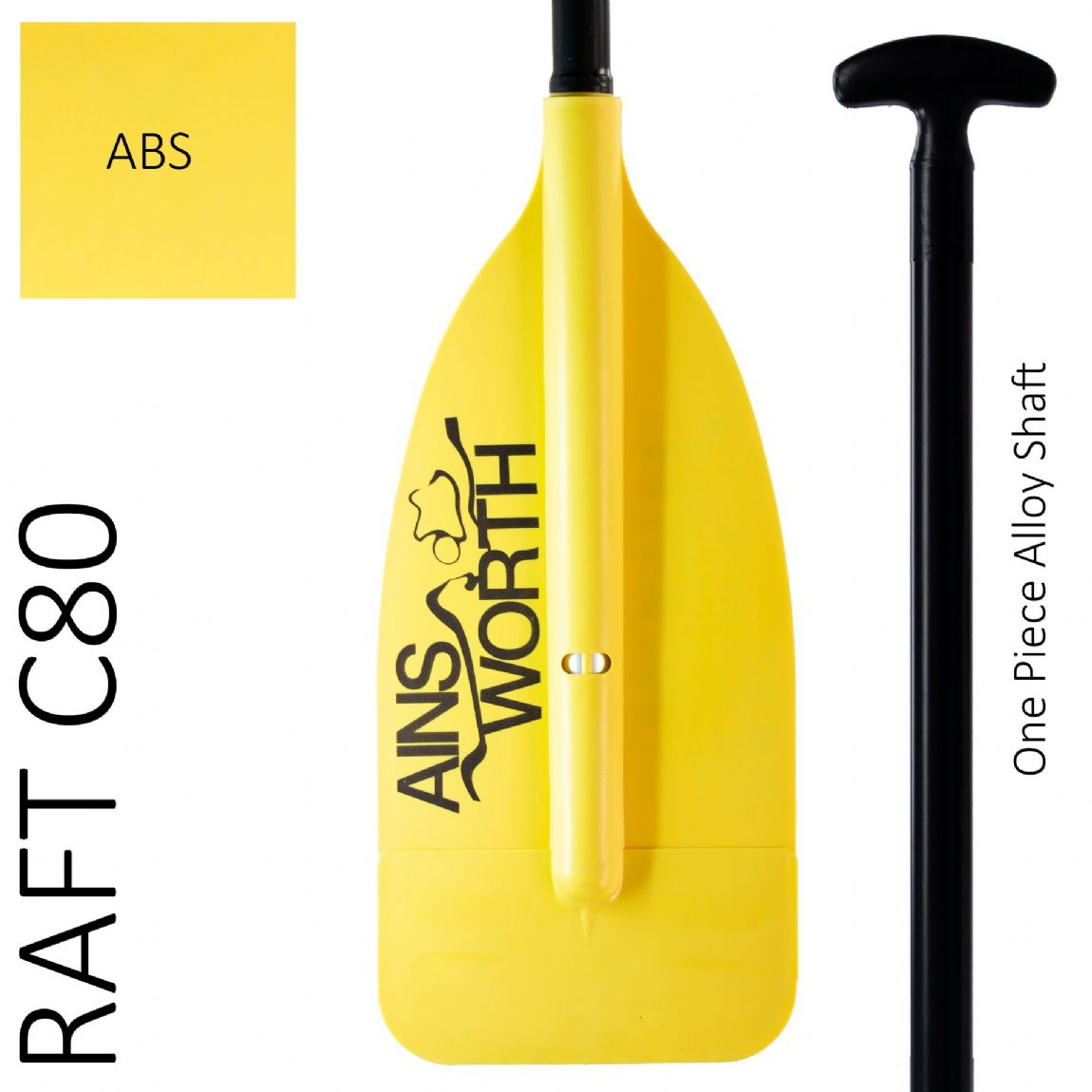 RAFT C80  (ABS) One Piece Alloy Shaft